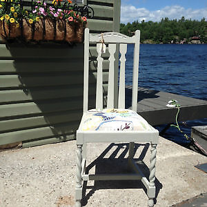 Antique Chair With New Cushion Seat - SUMMER END SALE