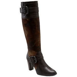 Ladies leather boots like new 8