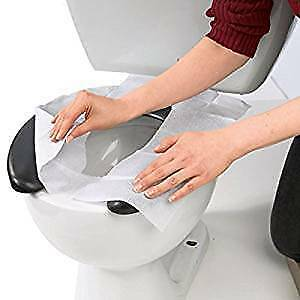 Discreet Toilet Seat Cover 250 Liner By HOSPECO-Take It Anywhere