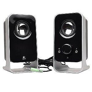 Logitech LS11 3 Watts RMS (FTC) 2.0 Stereo Speaker System - Blac