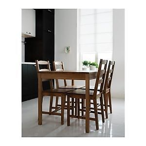 IKEA kitchen table & chairs