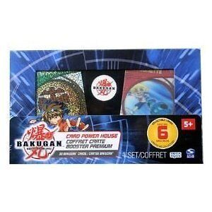 Bakugan Card Power House Collectible Special 6 30 cards 5+