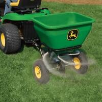 Trailed Spin Spreader for John Deere Lawn Tractor