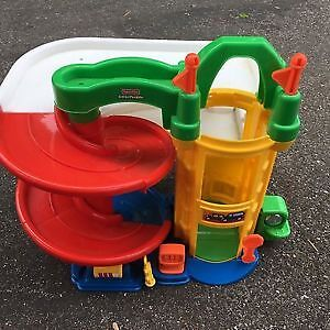 Fisher-Price Garage. AVAILABLE