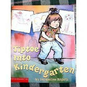 Tiptoe Into Kindergarten - Helpful little book for preschooler