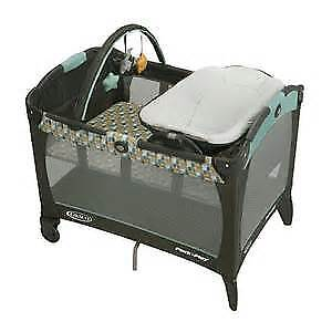 Graco Pack N Play Playpen Reversible Napper-Changer with sheet