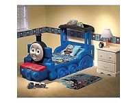 ( Reduced for quick sale ) Little Tikes Thomas the Tank Engine Bed - can deliver within zone 1 and 2