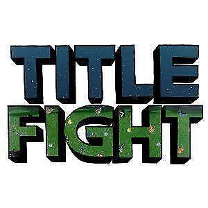 title fight tshirts ebay