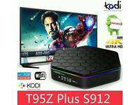 T95Z PLUS OCTACORE TV BOX FULLY EASY TO USE CUSTOM SET UP & BUFFER FREE LIVE HD & SD SPORT &TV