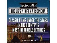 Open Air cinema tickets