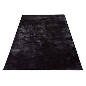 Tyler Shaggy Rug - black, 160cm x 230cm (LAST ONE) Rose Bay Eastern Suburbs Preview