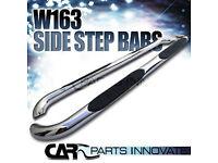 Mercedes ML W163 Chrome Side Bars