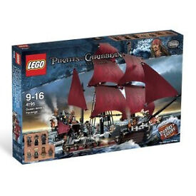 DISCONTINUED Lego Pirates of the Caribbean 4195 Queen Anne's Revenge!