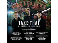 1 x Take That Ticket Swansea 14/06/17