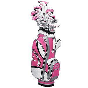 Womens Golf Clubs Pink