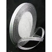 Silver Ribbon 6mm