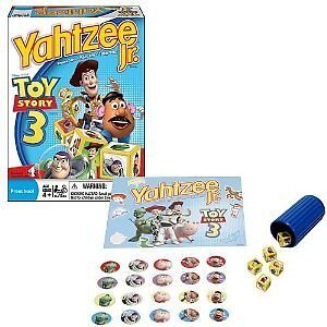 NEW Hasbro Yahtzee Jr. - Toy Story 3 Game