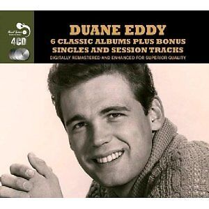 DUANE EDDY - TWANGY GUITAR/ESPECIALLY/GIRLS GIRLS GIRLS/SINGLES SESSION NEW 4-CD