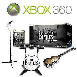 NEW XBOX 360 ROCKBAND LIMITED ED 228662861 BEATLES Edition Premium Bundle ROCK BAND VIDEO GAMES MICROSOFT XBOX 360
