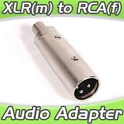 XLR Male to RCA