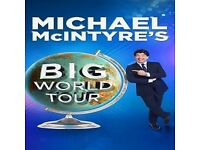 Michael McIntyre Big World Tour 2018- Newcastle Metro Radio Arena 4th May 2018