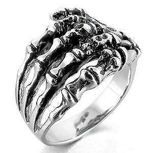 mens gothic rings - Gothic Wedding Rings