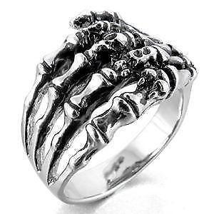 mens gothic rings - Goth Wedding Rings