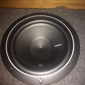 Rockford Fosgate subs and amp package!