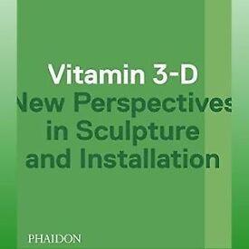 Vitamin 3-D sculpture book