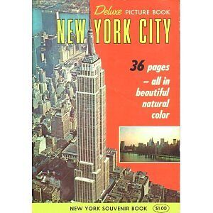 Deluxe Picture Book New York City 36 pages, Dexter Press (1965)