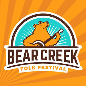 2 WEEKEND PASSES to the Bear Creek Folk Music Festival