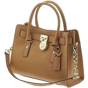 Michael Kors Hamilton Large Tote / Satchel (in Peanut)