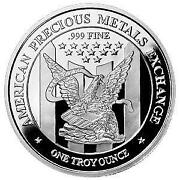 1 Troy OZ. Silver Rounds Free Shipping