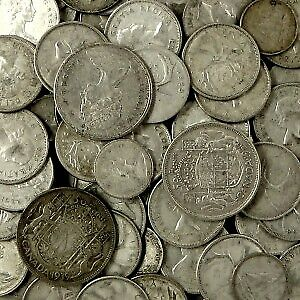 Buying Silver Canadian Coins, Sterling, Bullion, Medals, Gold o