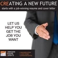CANADIAN RESUME EXPERTS – PROFESSIONAL RESUME WRITING FOR $70