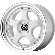 Konig White Wheels
