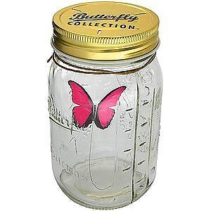 REALISTIC (FAKE) BUTTERFLY IN A ILLUMINATING JAR Cambridge Kitchener Area image 4
