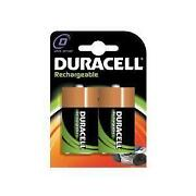 Duracell Rechargeable Batteries D