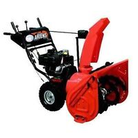 unwanted snow blowers
