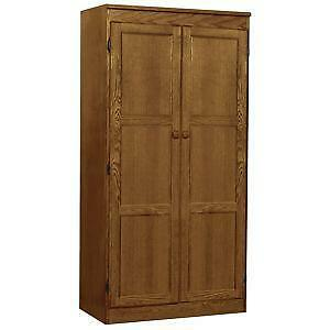 wood kitchen pantry cabinet pantry cabinet ebay 29402