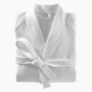 Luxury 100% cotton Bath robes, plush,absorbent, White,Chocolate Kitchener / Waterloo Kitchener Area image 2