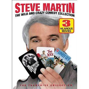 Steve Martin-Wild and Crazy Comedy DVD  Collection + bonus