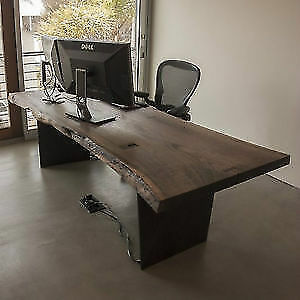 You should see these desks!   Live Edge and Reclaimed Wood Sale