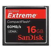 16GB Compact Flash Memory Card