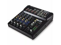 6-CHANNEL COMPACT MIXER - ALTO ZMX 862