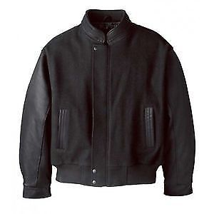 Canada Sportswear Jacket With Leather Sleeves (Size L)