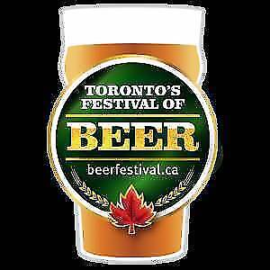 2 tickets to Friday July 27 th's Toronto's Beer Festival