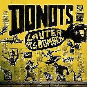 DONOTS Lauter als Bomben (Digipak ) (2018) CD  NEU & OVP 12.01.2018
