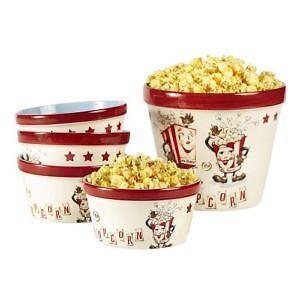 Vintage Popcorn Bowls 38