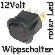 Schalter 12V Beleuchtet